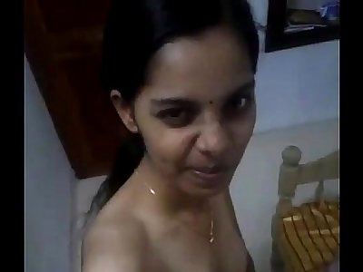 Indian desi nude selfie video