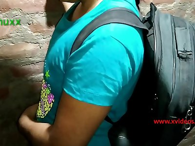 high school girl fucked little by techer teen India desi