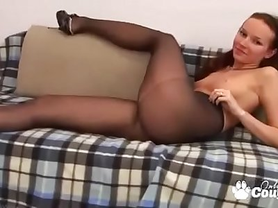 Bianka Getting Naughty In Her Pantyhose